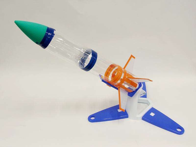 これがペットボトルロケット ... : 夏休み自由 : 夏休み